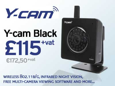 Y-cam Black Promotion