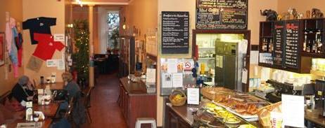 Inside The Elephant House Tea and Coffee Room