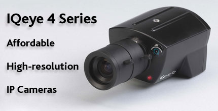 IQeye 4 Series affordable high resolution IP cameras