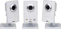 Axis M10 Series IP CCTV camera with PIR, white Light and Speaker