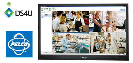 Pelco DS4U software only recording solution bundled with every new Pelco IP camera