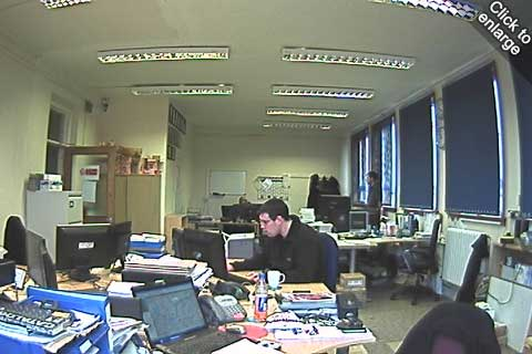 Low-light footage: Vivotek IP7142