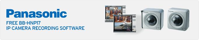 Free Panasonic BB-HNP17 IP camera recording software
