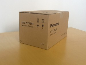 Image of the box for the Panasonic i-Pro WV-ST165