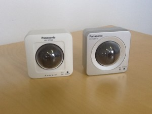 Panasonic i-Pro WV-ST165 side-by-side with the BB-HCM715