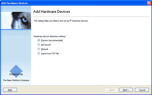 Add hardware devices