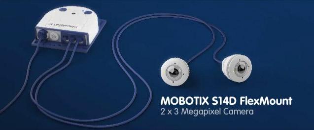 Mobotix S14D IP camera with FlexMount