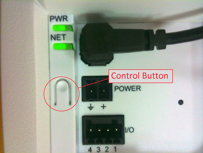 Axis Focus Assistant - control button