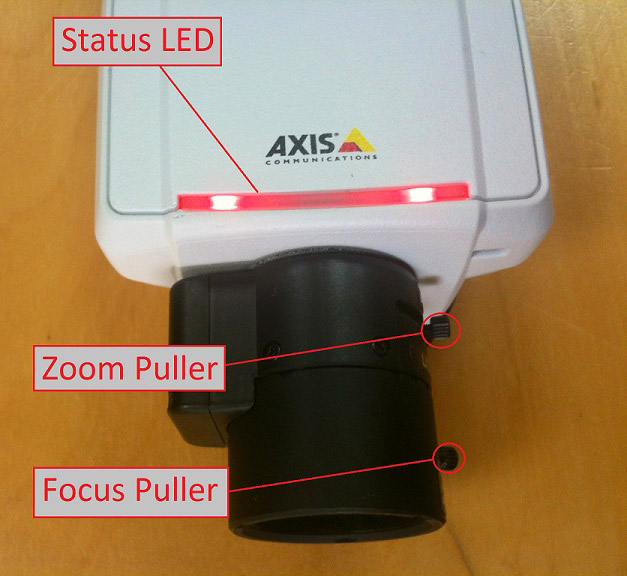Axis Focus Assistant - zoom and focus pullers