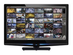 LILIN touch screen wide screen monitor