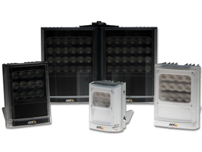 Selection of Axis illuminators