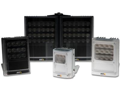 Selection of Axis illuminators