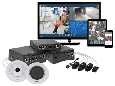 Axis F series hardware and Axis Camera Companion