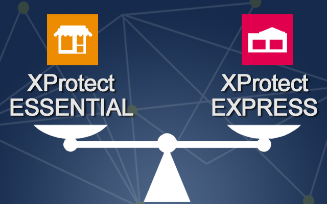 Milestone XProtect Essential and Express