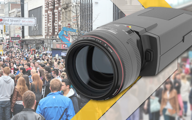 Axis incorporate Canon's professional-level lens design into new IP camera