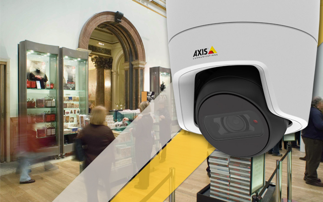 Axis M31 domes are a smart and affordable choice for any small business
