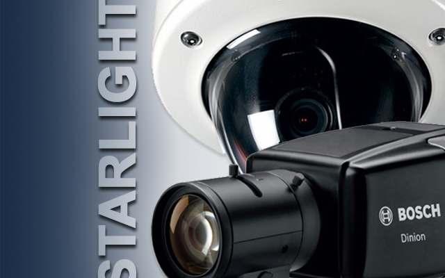 Bosch's latest Starlight dome and bullet IP cameras