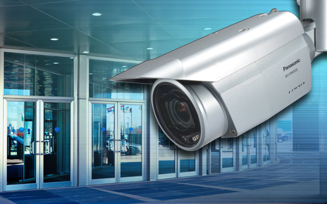 Bullet 'all-rounder' IP camera from Panasonic