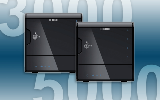 Bosch DIVAR IP 3000 and 5000 units