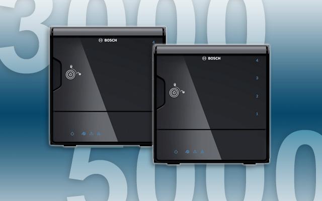 Bosch DIVAR IP 3000 and 5000 units