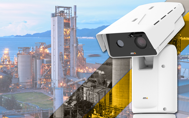 New range of Axis positioning cameras deliver high-performance CCTV over large locations
