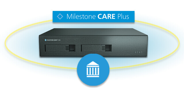 Milestone XProtect Professional VMS and Care Plus