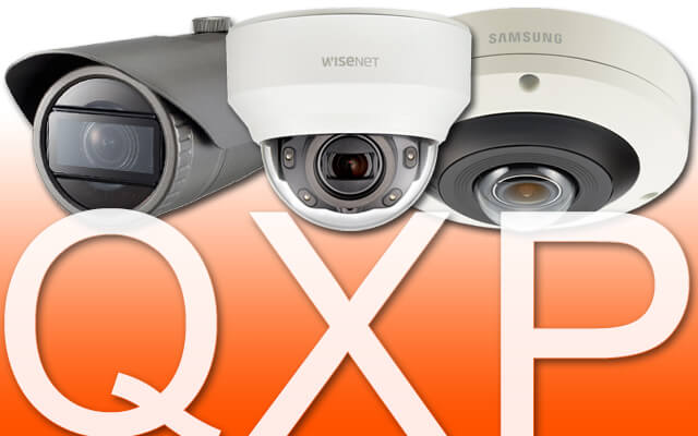 Samsung Wisenet Q, X and P Series