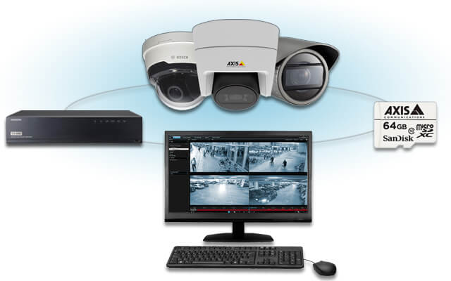 Recording and Storage options for your CCTV system