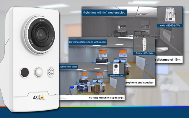 new demo video for the Axis M1065-LW IP camera