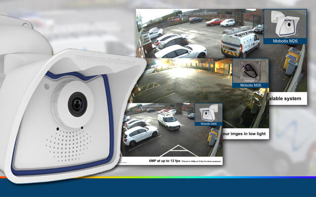 new demo video for the Mobotix M26 IP camera