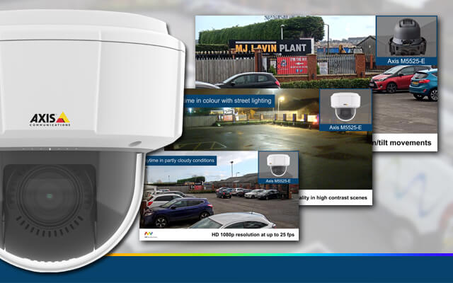 New demo video for the Axis M5525-E IP camera