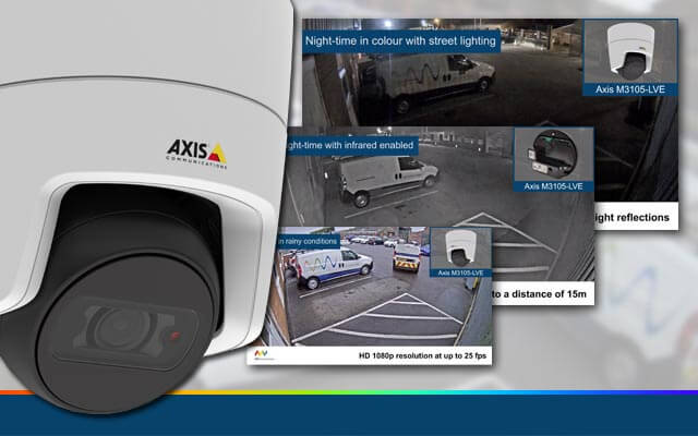 New demo video for the Axis M3105-LVE IP camera