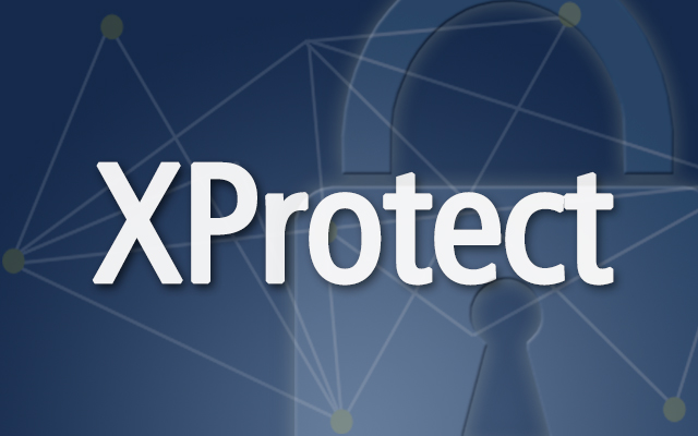 XProtect against a padlock