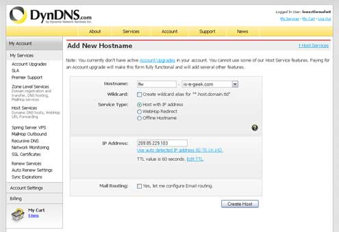 Set Up Dynamic DNS In Your Netgear Router Using DynDNS com Network