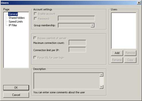HOWTO Set up a personal FTP server for use with an IP camera's image