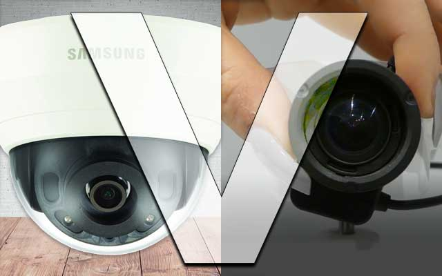 Fixed and varifocal IP cameras