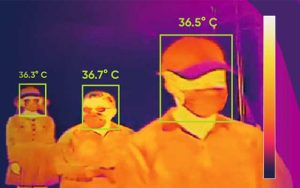 Thermal cameras for coronavirus screening