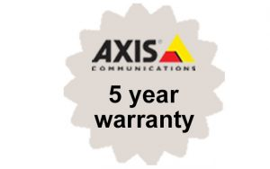 Axis 5-year warranty