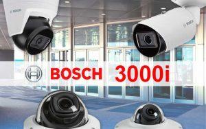 Bosch 3000i range of IP video cameras