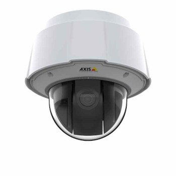 Axis Q6078-E outdoor-ready PTZ with 4K resolution, 360° pan, 20x optical zoom, Axis Object Analytics and PoE+