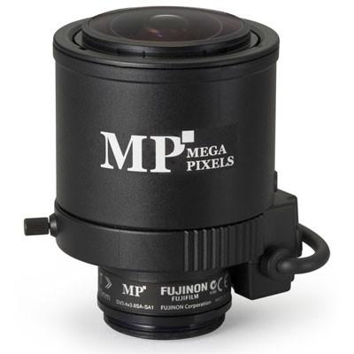 "Fujinon DV3.4X3.8SA-SA1 1/2"" 3 Megapixel, 3.8-13mm varifocal, DC-iris, C mount lens"
