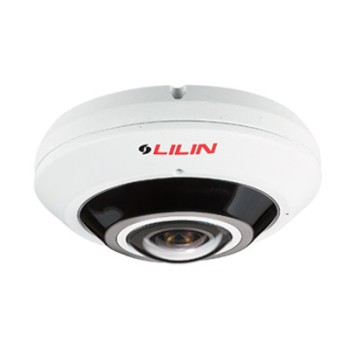 LILIN F2R36C2IM outdoor panoramic IP camera with 12MP resolution, built-in microphone, up to 20m IR, Sense up+ and PoE