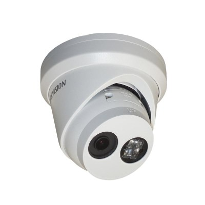 Hikvision DS-2CD2343G0-I-2.8mm outdoor-ready IP camera with 4 megapixel resolution, up to 30m IR, PoE and edge storage
