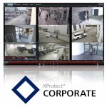 Milestone XProtect Corporate video surveillance software, base licence, add unlimited number of cameras