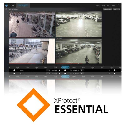 Image Milestone Xprotect Essential Software Camera Licence
