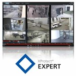Milestone XProtect Expert video surveillance software, camera licence