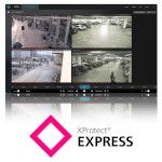 Milestone XProtect Express video management and recording software, base licence