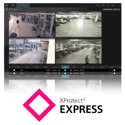 Image Milestone Xprotect Express Software Base Licence