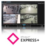 Milestone XProtect Express+ video management and recording software, camera licence