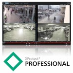 Milestone XProtect Professional video management software, base licence, unlimited IP cameras